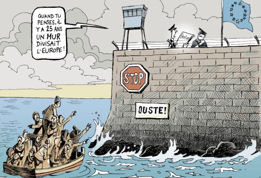 Histoires Du Mur De Berlin Par Les Eleves De La Specialite Hg Lycee Amiral Ronarc H